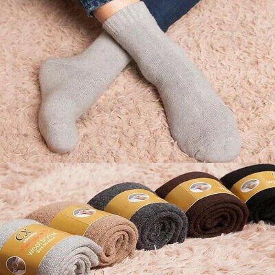 Wool Cashmere Comfortable Thick Socks Mens Winter Warm Outdoor Sports Socks New