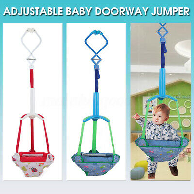 Baby Jumper Swing Seat Jumping Infant Bouncer Doorway Toy Door Jump Play Home AU