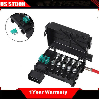 FUSE BOX BATTERY Terminal Can 1J0937550A For VW Jetta Golf ... Vw Golf Mk Battery Fuse Box on