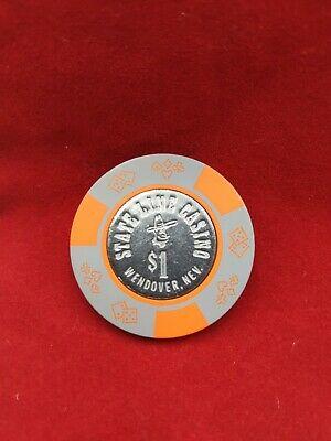 State Line Casino Wendover NV $5 Chip Incused 1980