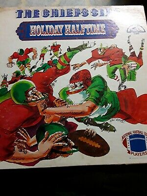 1969 NFL Kansas City Chiefs Sing Holiday Halftime Record   EXTREMELY RARE!!!
