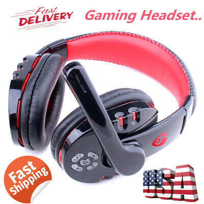 PS4 Gaming Headset V8 Xbox One Headphone PC Earphone Stereo Bass with Mic US