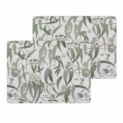 May Gibbs by Ecology - Gum Nut Babies Corked Backed Large Placemats 30x40cm Set
