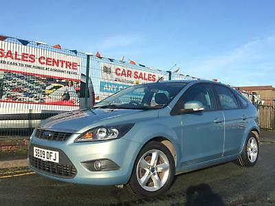 Ford Focus Zetec 1.6 (100) 2009 5Dr *12 Month Mot *Only 2 Owners *Usb/Mp3/Aux