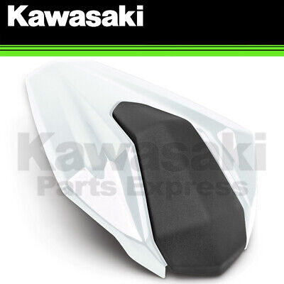 New 2020 Genuine Kawasaki Ninja 400 Pearl Blizzard White Rear Seat Cowl