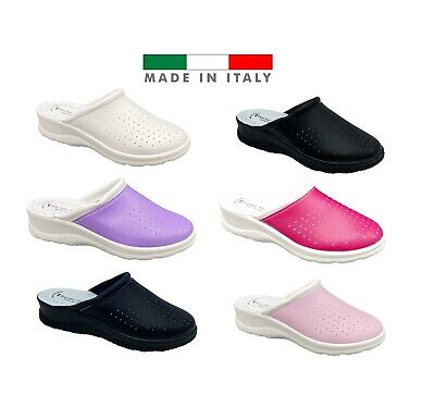 Ciabatte Infermiere Donna/Uomo Pantofole Sanitarie Sanit Dueci Made In Italy