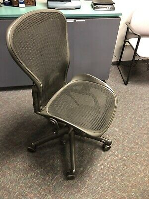 Herman Miller Aeron Office Chair - Graphite, Size B