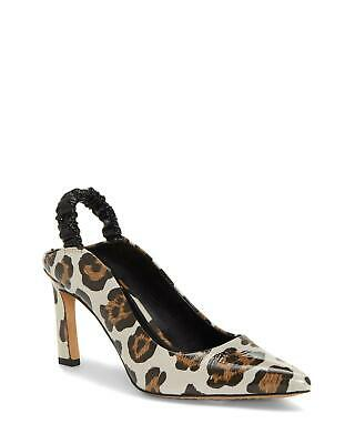 Vince Camuto Women's Restia Leather Slingback Pointed-Toe Pumps Multi/Black