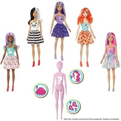 Barbie Colour Reveal Doll Assortment 7 Surprises Gift New - FREE AND FAST SHIP