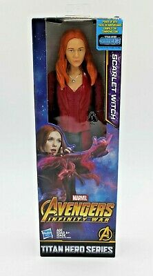 Marvel Avengers Infinity War Titan Hero Series SCARLET WITCH Doll