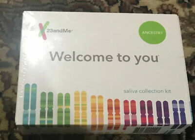 Brand New And Sealed 23andMe AUXX-00-N05 Genetic Ancestry Test