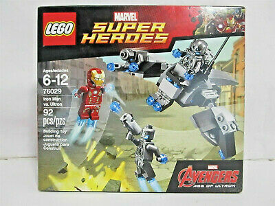 76029 Iron Man vs Neu /& OVP Ultron LEGO Marvel Super Heroes