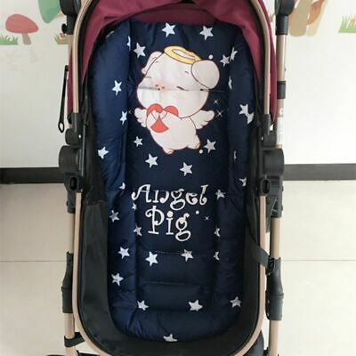 Cotton Baby Stroller Cushion For Pram Carriage Seat Cover Pushchair Mat Mattress