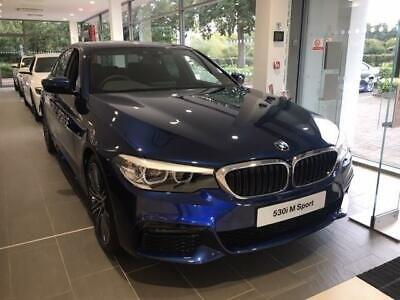 2019 BMW 5 Series 530I M SPORT Petrol blue Automatic