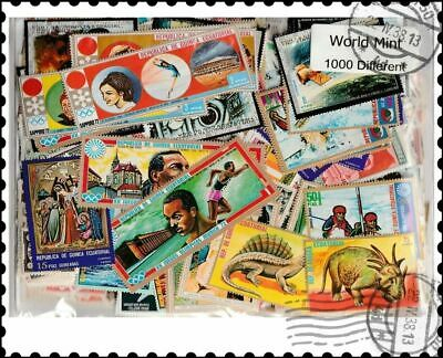 World Mint : 1000 Different Worldwide Stamps Collection