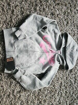 Converse Hoody Grey Pink Age 3-4 Years Bnwt Soft Inside