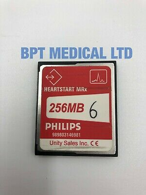 Philips Heartstart MRx monitor 256mb memory card