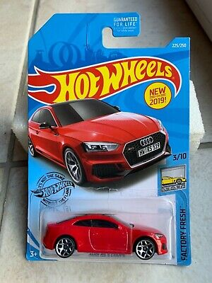 neu in OVP Factory Fresh 225 Audi RS 5 Coupe HOT WHEELS 2019