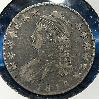 1819 50C Capped Bust Half Dollar (53639)
