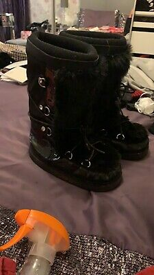 River Island Girls Snow Boots Size 1