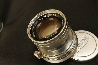 Leitz Summicron  50mm  f2  collapsible  for Leica M cameras