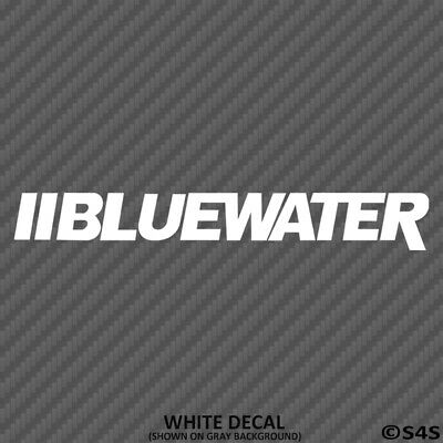 Bluewater Boats Car/Truck Decal Outdoors Sports & Boating - Choose Color
