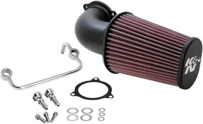 K & N Aircharger Performance Air Intake System - Textured Black 57-1122