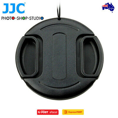 AU*JJC LC-49 Snap on lens cap 49mm w/ String for DSLR Camera Lenses
