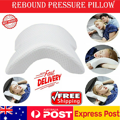 Slow Rebound Memory Foam Pillow Cervical Pillow for Neck Pain Anti Snore Pad