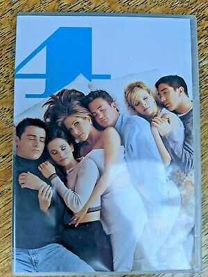 DVD Boxset Friends The complete series 4 - 4 disc extended version