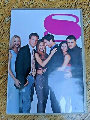 DVD Boxset Friends The complete series 8 - 4 disc extended version