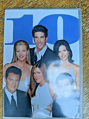 DVD Boxset Friends The complete series 10 - 4 disc extended version