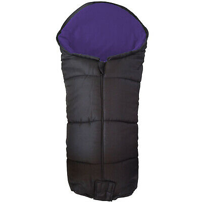Deluxe Footmuff / Cosy Toes For Out 'N' About Nipper 360 Single - Purple