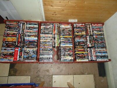 HUGE LARGE Job Lots  Bundle 3100 DVDs Films Horror Gang Action Some Rare + More