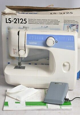 BROTHER Model LS-2125 Sewing Machine