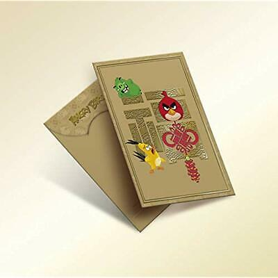 10 Pack - Angry Bird Trendy Chinese New Year Traditional Red Packet/Lai See/Hong