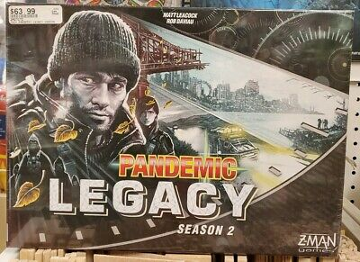 Z-MAN Games Pandemic Legacy Season 2 BLACK (stand alone) ZMG7172 NEW + SEALED
