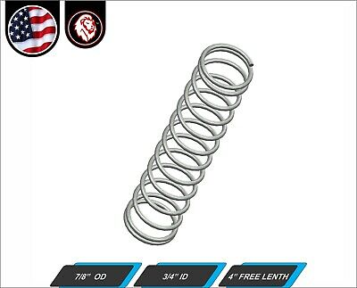 "13//16/"" OD X 4"" L X .120 2 Pack New Century Spring C-259 Compression Springs"