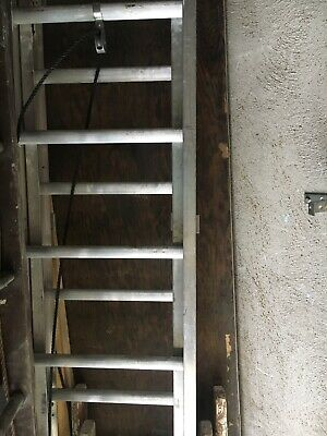 louisville 24 ft aluminum extension ladder 300lb capacity duty rating type 1A