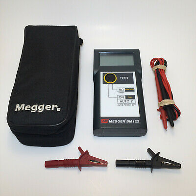 AVO Megger BM122 Handheld Insulation and Continuity Electrical Tester Unit