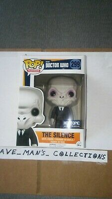 Funko Pop Dr. Who The Silence  Hot Topic Exclusive ~ Vinyl Figure #299~NIB