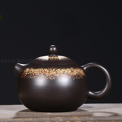Chinese yixing zisha tea pot handmade xishi pot marked master kungfu tea pot new