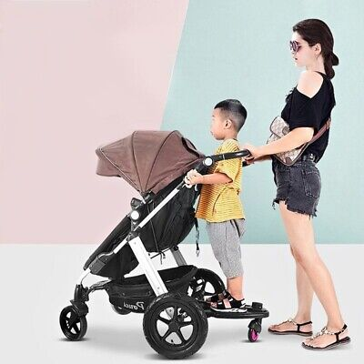 Universal Stroller Child Board Quick Connect Rider Trailer Ride-On Adapter