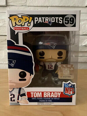 Funko Pop! Football - Tom Brady #12 (#59 - Wave 3) New England Patriots