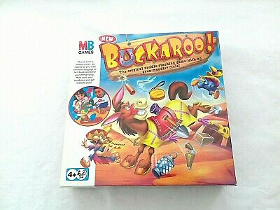 BUCKAROO Hasbro Family And Kids Game For 2-4 Players 3 Skill Levels Ages 4+