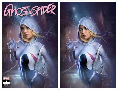 Spider-Gwen Ghost Spider #1 - Shannon Maer - trade & virgin variant set PREORDER