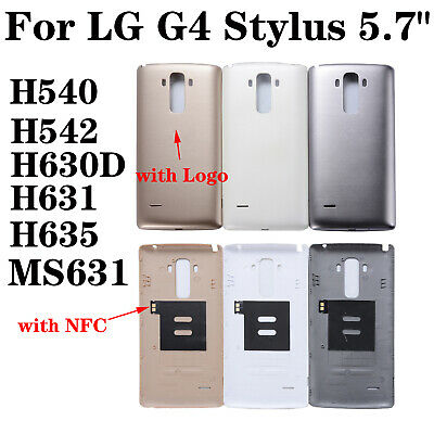 OEM +NFC For LG G4 Stylus H540 H542 H630D H631 H635 Rear Back Door Battery Cover