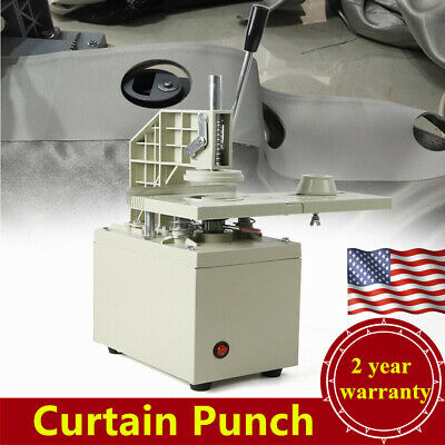 Electric Curtain Eyelet HOLE Punch Machine 110V 300W New USA