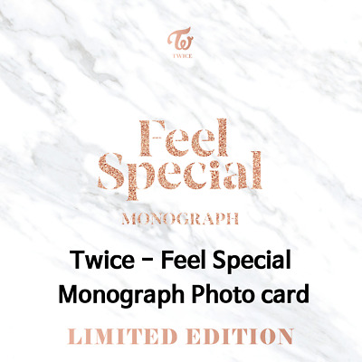 TWICE Feel Special [Monograph Photocard]
