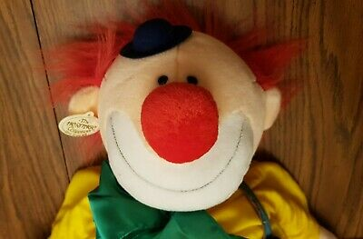 LARGE Ganz Vintage Heritage Collection Chappy Clown Stuffed Animal Plush Toy